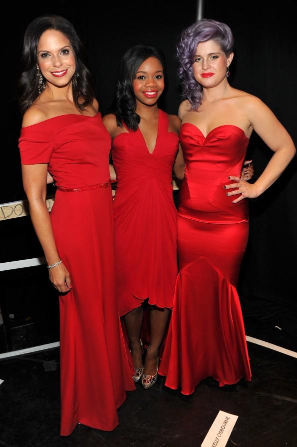 Soledad O'Brien, Gabby Douglas & Kelly Osbourne bonded backstage