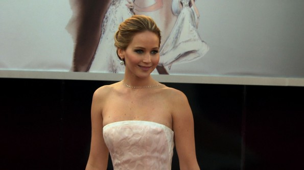 Such a charmer: Jennifer Lawrence, we love you!