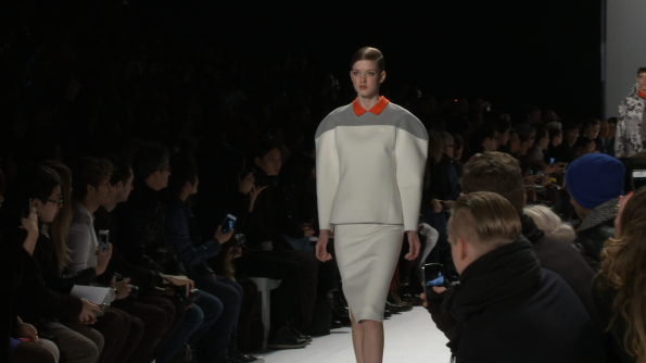 Proportion popping silhouette at Lacoste